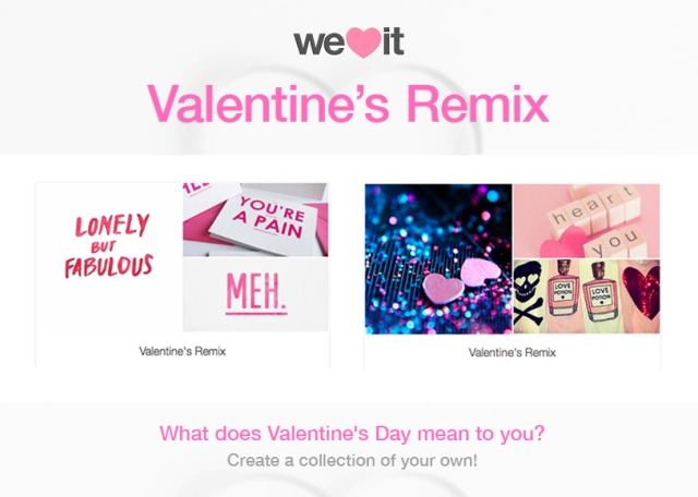 Remix Valentine's Day