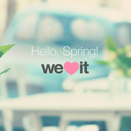 We Heart It - Hello Spring