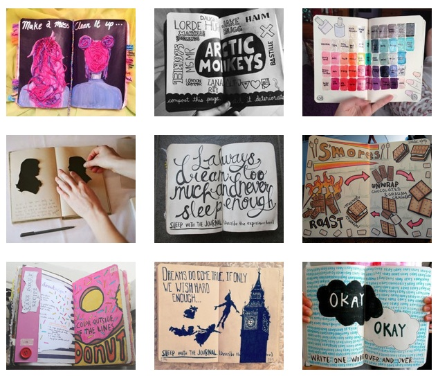 Wreck This Journal - We Heart It