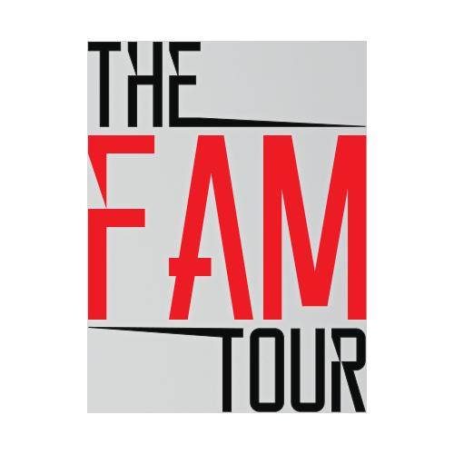 The Fam Tour - We Heart It - 2014